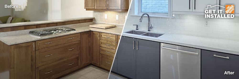 Sarnia Kitchen Cabinet Supplies Refacing Services Home Depot